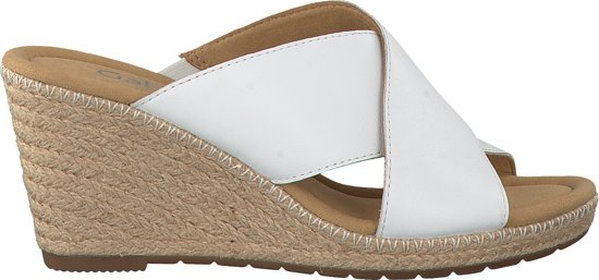 | Gabor Dames Slippers 829 Wit Maat 41