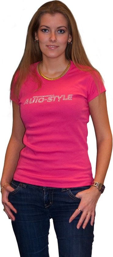 AutoStyle Dames Shirt Roze Maat L