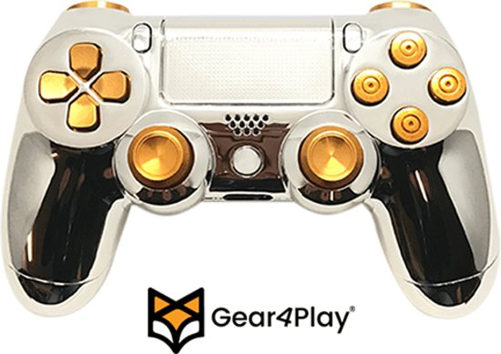 bol com | Ready4Play - Chrome plated PS4 controller