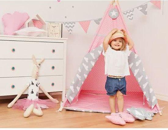 Tipi Tent Kinderkamer : Bol.com chimb tipi tent roze speeltent