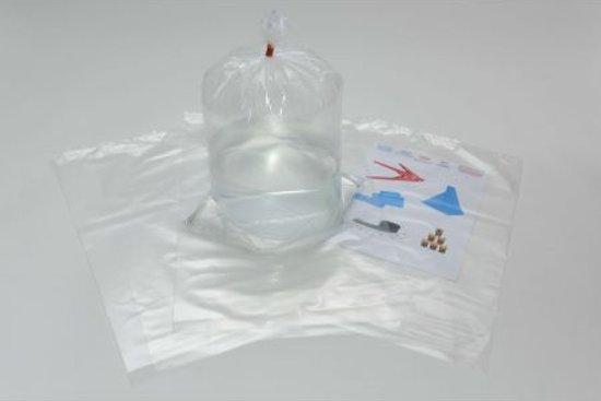 LDPE vlakke zakken 32cm x 50cm x 50my (015.0568)