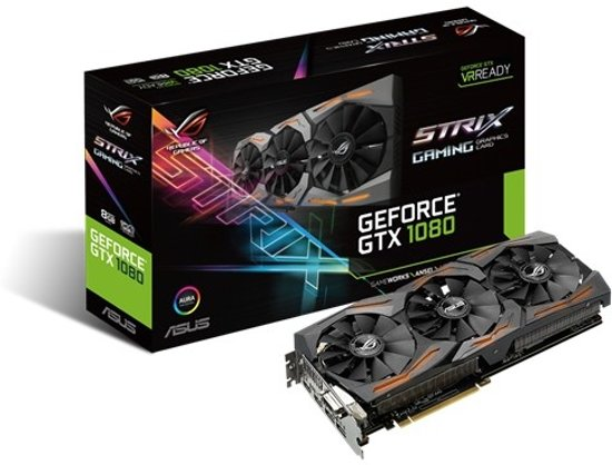 Asus GeForce Strix GTX 1080 8G Gaming