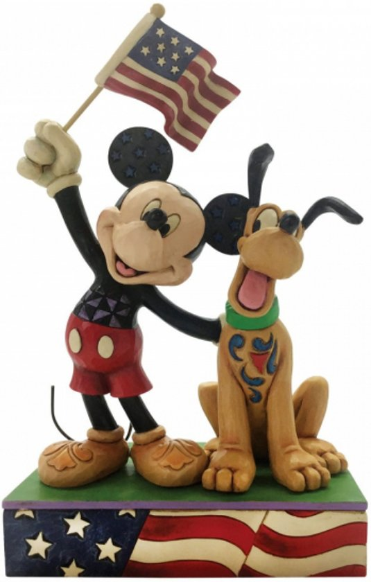 Wondrous Bol Com Jim Shore Disney Traditions A Banner Day Mickey And Funny Birthday Cards Online Fluifree Goldxyz