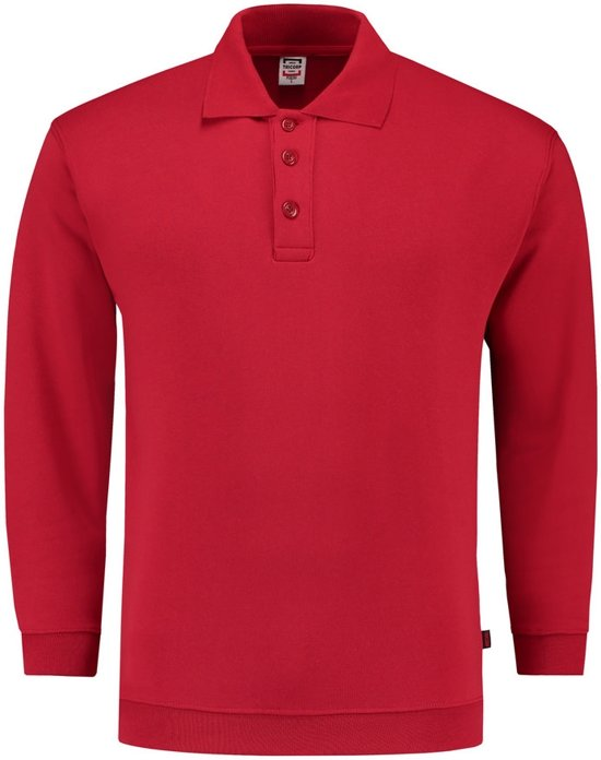 Tricorp Polosweater boord - Casual - 301005 - Rood - maat XXL
