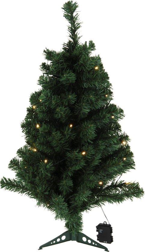 Kunstkerstboom met 35 LED Lampjes Warm Wit (90cm)