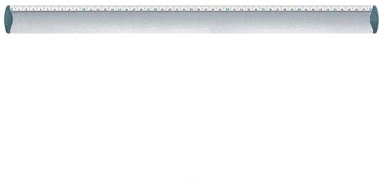 Aluminium 50 cm liniaal