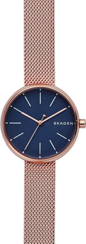 Skagen Denmark Signature horloge  - Goudkleurig