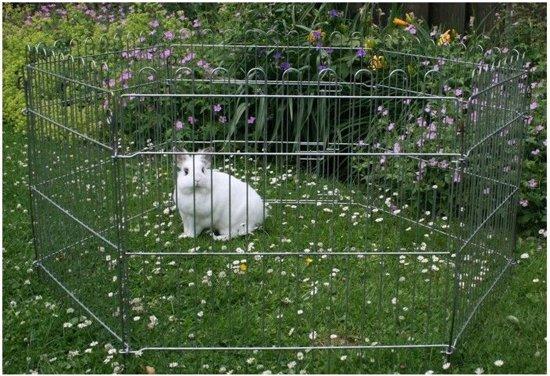 Vitakraft buiten konijnenren- Met Deur - 6x 60 x 63 cm