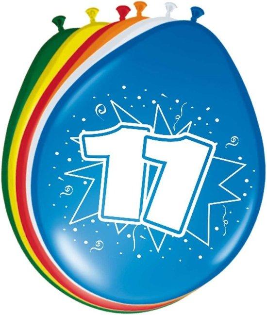 Uitgelezene bol.com | 8x stuks Ballonnen versiering 11 jaar NV-73