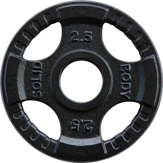 Body-Solid Olympische gietijzeren halterschijf 2.5KG - 50 mm - OPTK - per stuk