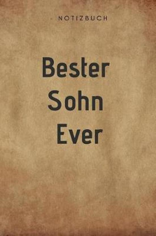Bester Sohn Ever Notizbuch