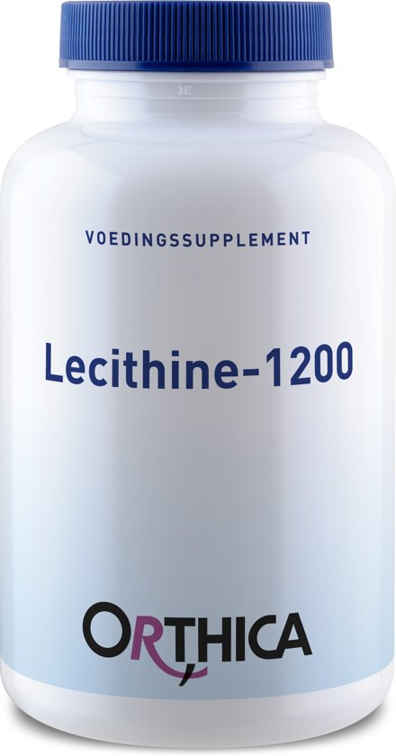 Orthica - Lecithine 1200 - 90 Capsules - Voedingssupplement