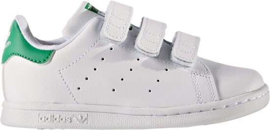 634224bf4eb bol.com | Adidas Meisjes Sneakers Stan Smith Cf I - Wit - Maat 24