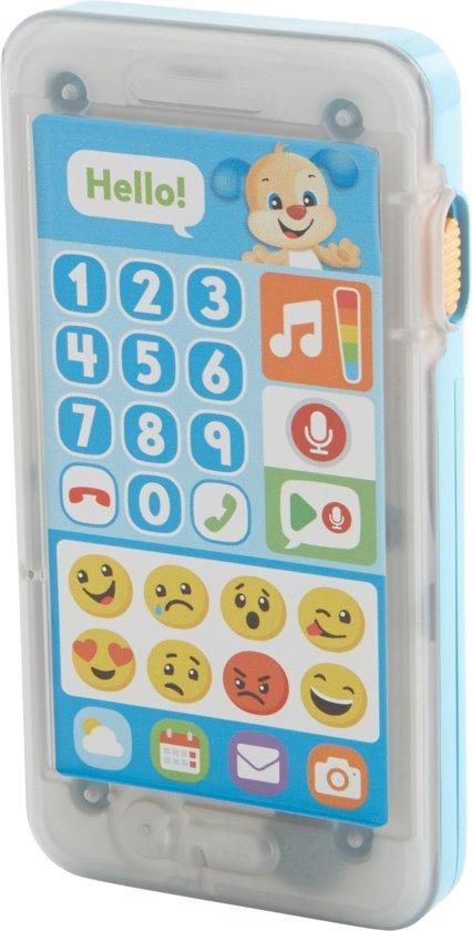 Afbeelding van Fisher-Price Leerplezier Spreek Een Boodschap In Smartphone - Speelgoedtelefoon speelgoed