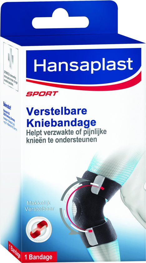 Hansaplast Sport Verstelbare Neopreen Kniebandage