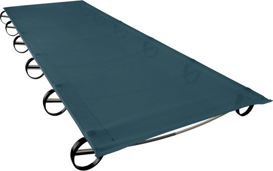 Abbey Camp Veldbed.Bol Com Thermarest Luxurylite Mesh Cot Veldbed Regular Blauw