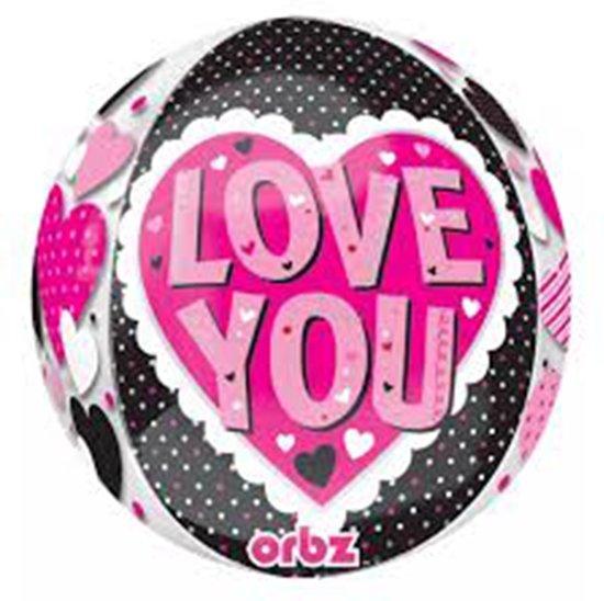 Folieballon Love You