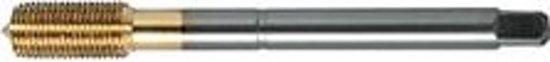 Machineroltap HSS-E TiN DIN374, met inlooplengte C M 10x1,00mm FORMAT