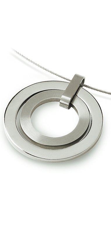 Boccia Titanium 0741-01 Hanger - Titanium - Zilverkleurig