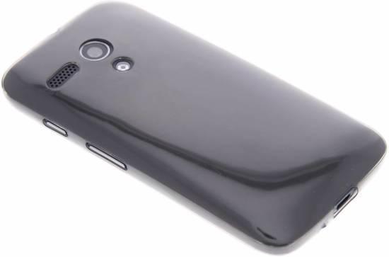 Cas Gris Tpu Ultra Mince Transparent Pour La Moto Motorola G 3e Gen 2015 YunEn