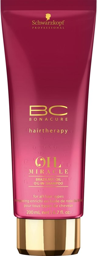 99b782bef4 Schwarzkopf Bc bonacure oil miracle brazilnut oil-in-shampoo 200ml