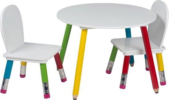 Kindertafel En Stoel : Bol homestyle kindertafel met stoelen merkloos speelgoed