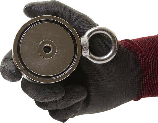 Magnetar Buldog 200 + 200 vismagneet om te magneetvissen, Kwaliteits magneet met de beste neodymium metaalvissen