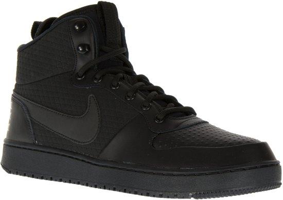 Nike Court Borough Mid Winter Sneakers Maat 42.5 Mannen zwart