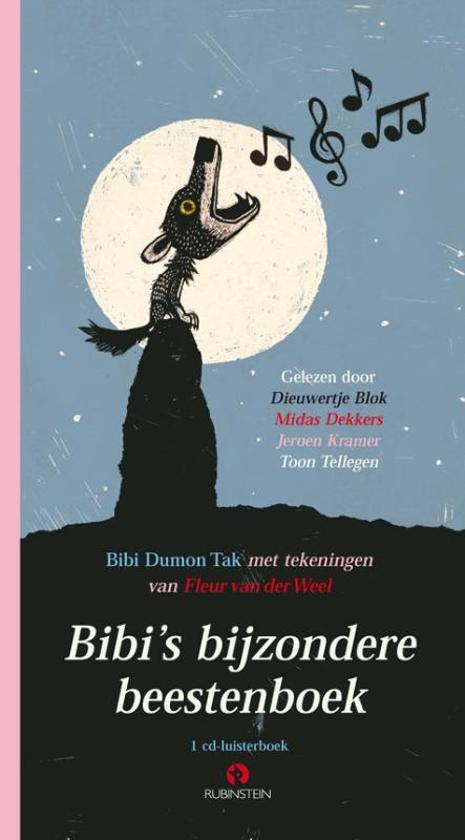 Boek cover Bibis bijzondere beestenboek (luisterboek) van Bibi Dumon Tak (Onbekend)