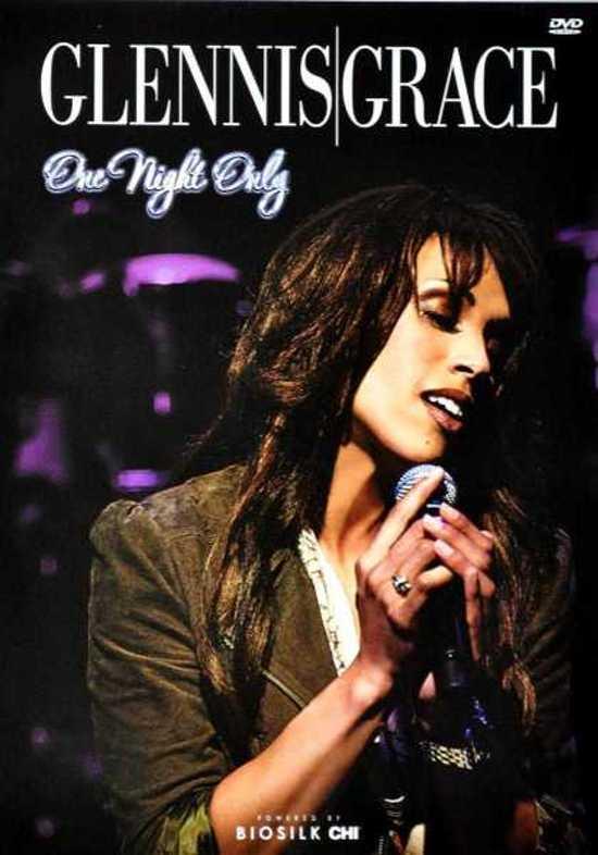 CD cover van Glennis Grace - One Night Only van Glennis Grace