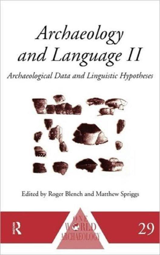 Archaeology and Language II