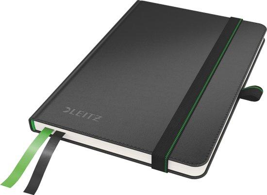 Leitz A6 Notitieboek - Gelijnd - Hardcover / Zwart