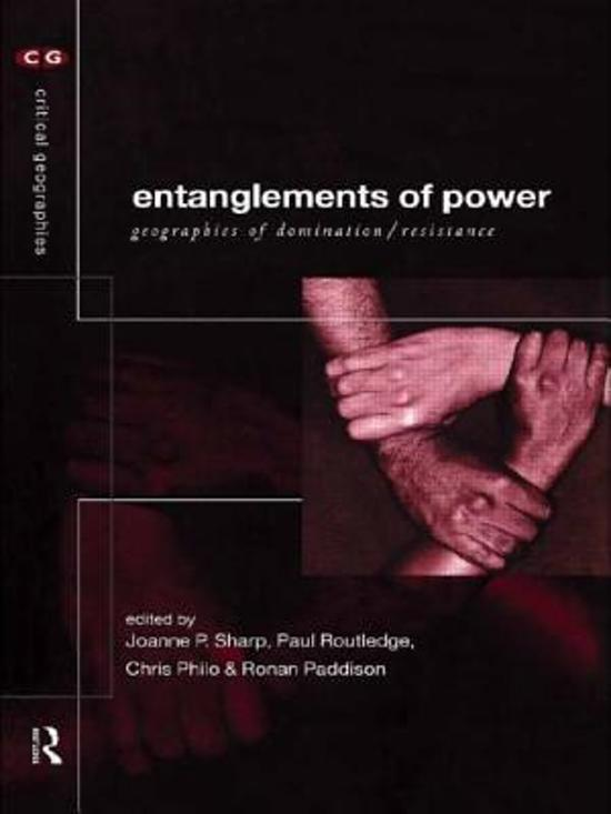 Critical domination entanglements geographies geographies power resistance