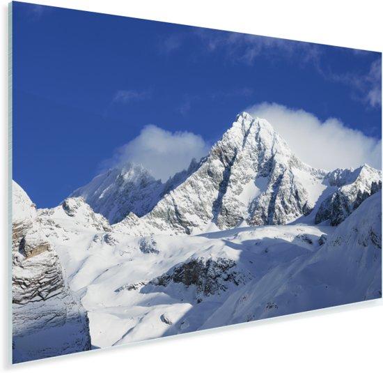 De Oostenrijkse berg in het nationale park Hohe Tauern Plexiglas 180x120 cm - Foto print op Glas (Plexiglas wanddecoratie) XXL / Groot formaat!