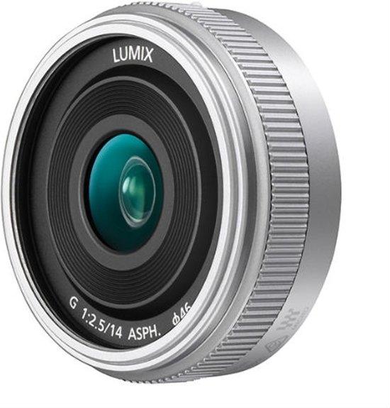 Panasonic Lumix G 14mm f/2.5 II ASPH. Zilver