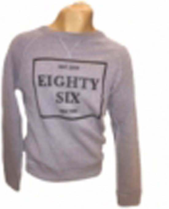 Eighty Six Ronde Hals Sweater Grijs