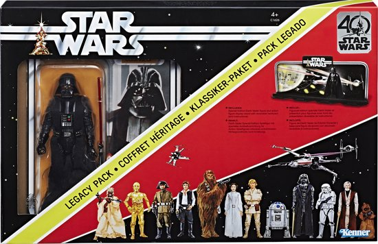 Star Wars Black Series 40 year Legacy pack - 15 cm - Speelfiguur
