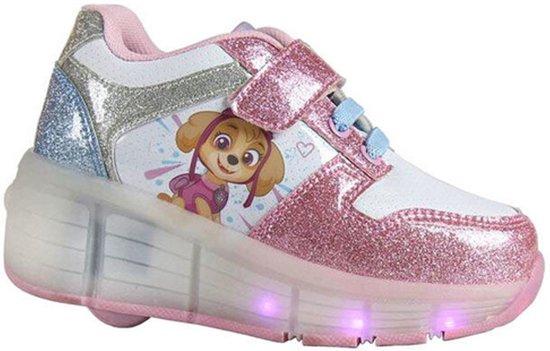 39498e61160 Paw Patrol Sneakers/Rolschoenen maat 29 - Schoenen met wieltjes en LED  verlichting - voor