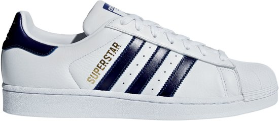 taglia Blu Bianco Adidas 38 Superstar Sneakers Unisex BxYYUwEzq