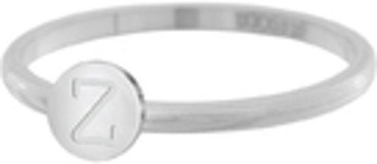 iXXXi Vulring Alfabet Z zilverkleurig 2mm - maat 17