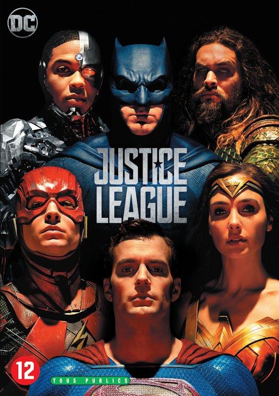 DVD cover van Justice League