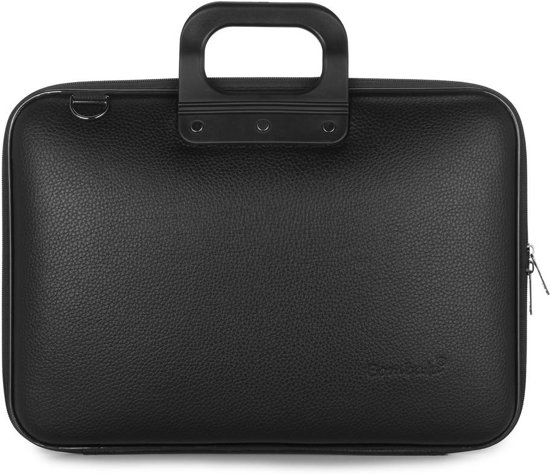 f1266f01314 Bombata CLASSIC All Black 15 inch Laptoptas - 15,6