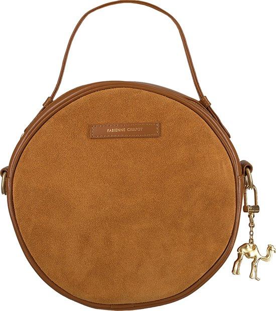 d73f55eb9fd bol.com | Fabienne Chapot Dames Schoudertassen Roundy Bag - Cognac ...
