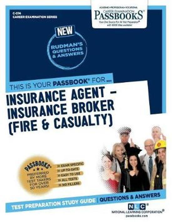 Insurance Agent-Insurance Broker (Fire & Casualty)