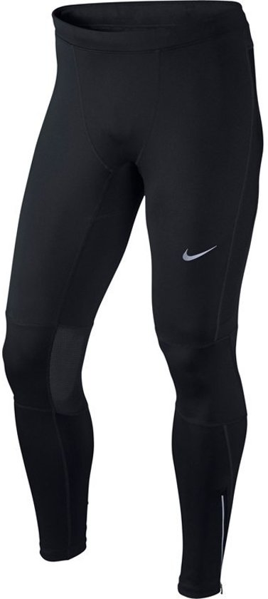 Nike Dri-Fit Essential Tight - Hardloopbroek - Heren - Black/Black/Black - Maat S