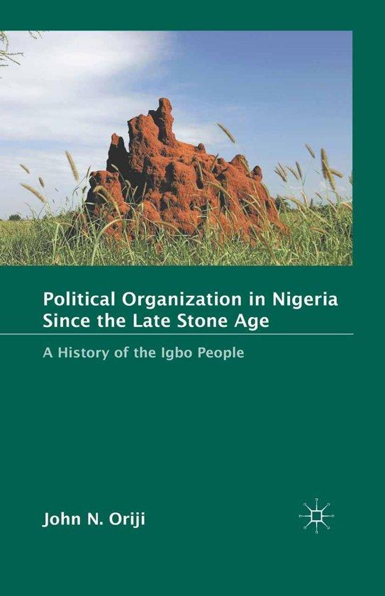 Political Organization in Nigeria since the Late Stone Age