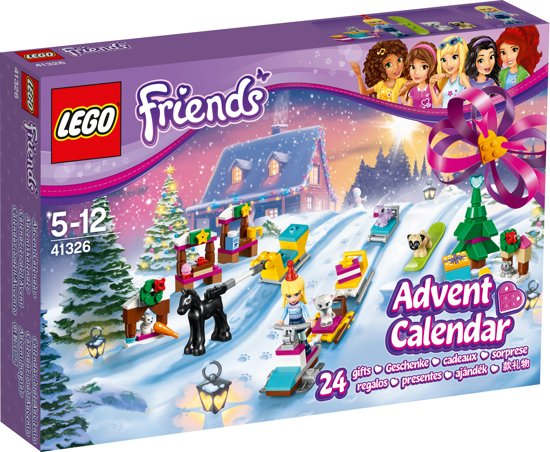 Weihnachtskalender Lego Friends.Lego Friends Adventskalender 2017 41326