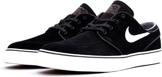 reputable site 0d692 e8c7f Nike Zoom Stefan Janoski Sneaker Heren Sneakers - Maat 45 - Mannen -  zwart/wit