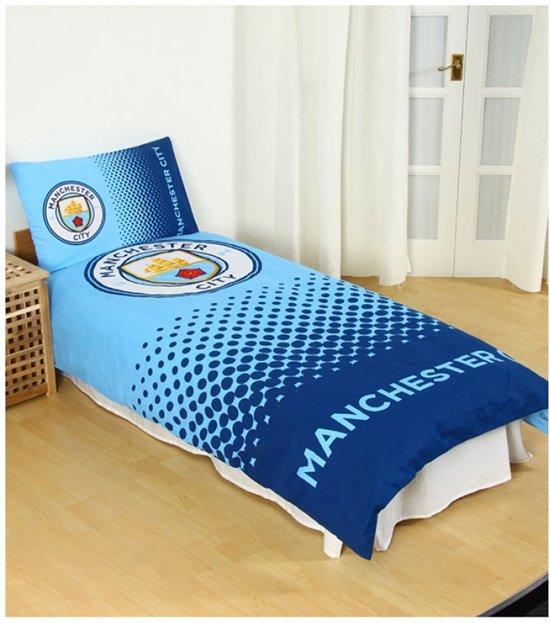 Dekbedovertrek Manchester City | Eenpersoons Man City Dekbedovertrek | Nieuw Club Logo