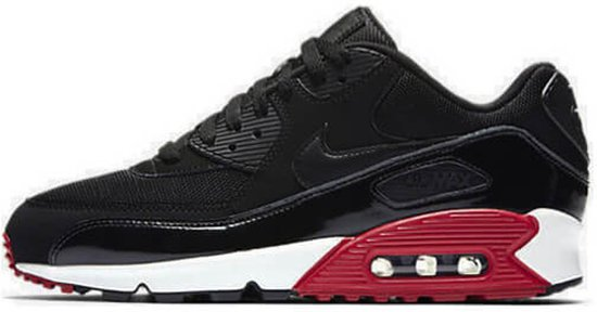 newest b2d0a 592b7 bol.com | Nike Air Max 90 Essential 537384-066 Zwart Rood